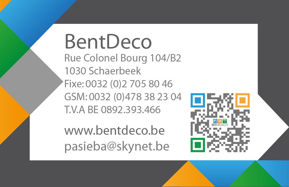 Carte de Visite - BentDeco