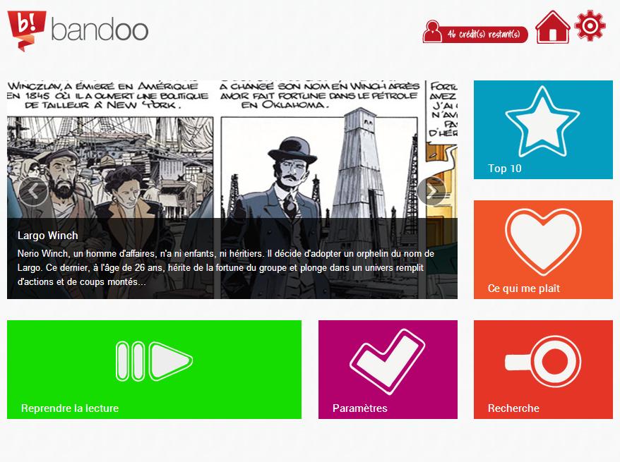 Bandoo -Interface