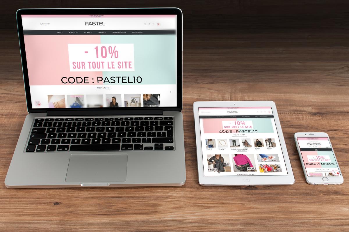 Pastel Webshop