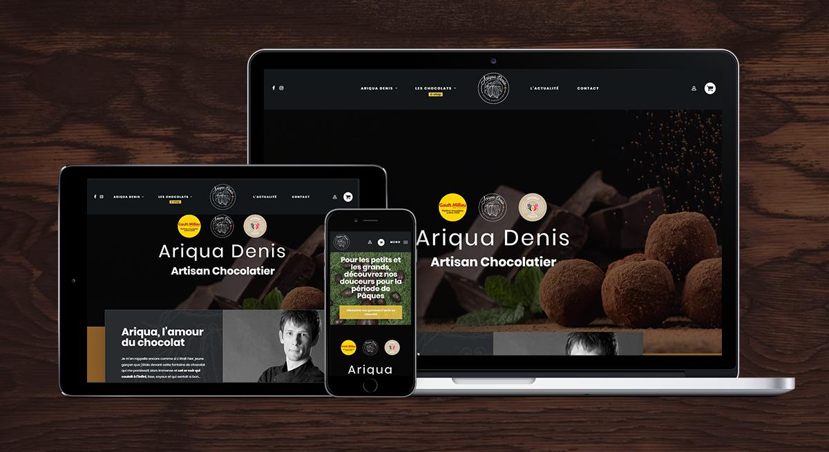 Ariqua Denis - E-commerce, Eshop